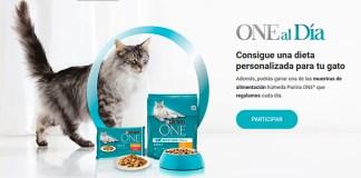 Reparten muestras gratis de Purina One Gato