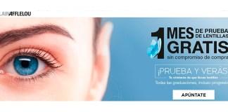 1 mes de prueba de lentillas gratis con Alain Afflelou