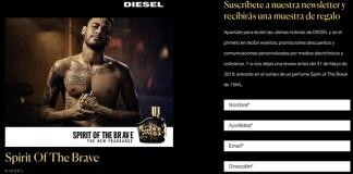 Muestras gratis de Spirit Of The Brave de Diesel