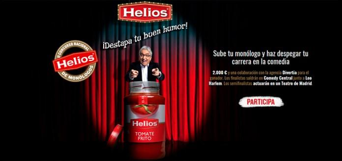 Participa en el II Concurso Nacional de Monólogos Helios