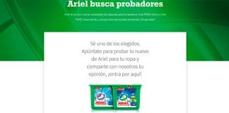 Prueba gratis Ariel con Próxima a ti