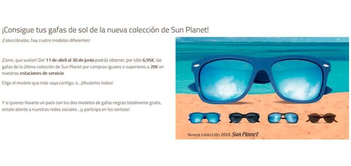 Consigue unas gafas de sol Sun Planet con Repsol