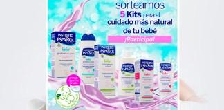 Sortean 1 Kit de la línea bebé de Instituto Español cada semana