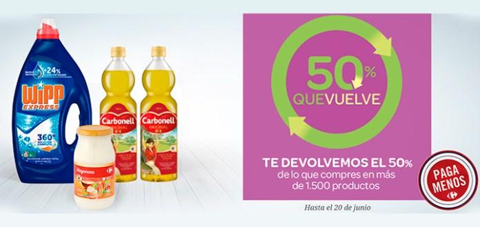 Vuelve el 50% de Carrefour