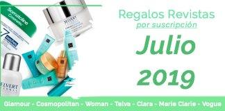 Regalos suscripciones Revistas julio 2019