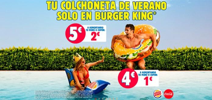 Consigue la colchoneta de verano en Burger King