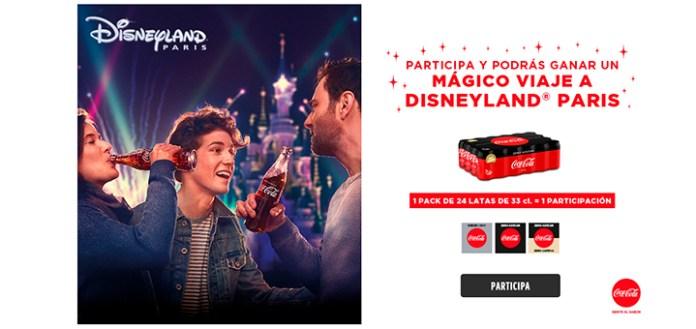 Gana un mágico viaje a Disneyland París con Coca Cola