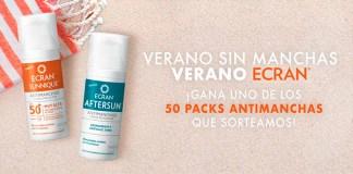 Sortean 50 packs Antimanchas Ecran