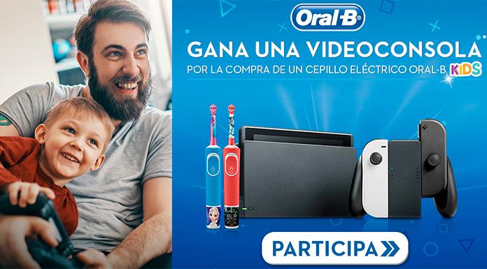 Gana una videoconsola con Oral B