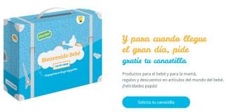 Gratis Canastilla Caprabo para el bebé y la mamá