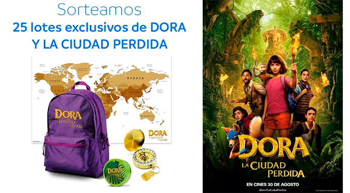 Mayoral sortea 25 lotes de Dora y la ciudad perdida