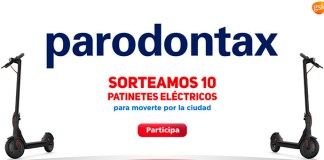Parodontax sortea 10 patinetes eléctricos