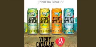 Prueba gratis Vichy Catalan sabores con Samplia