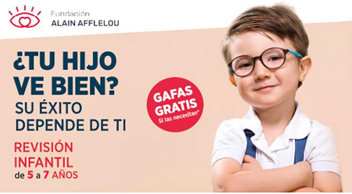 20ª Campaña escolar de la Fundación Alain Afflelou