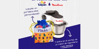 Llévate gratis un portabocatas personalizado con Tulipán