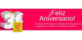 Promoción Feliz Aniversario de Carrefour