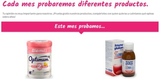 Prueba gratis Blemil plus 2 Optimum y Imunoglukan P4H con Ordesa