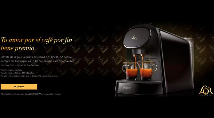 Llévate gratis la nueva cafetera L'Or Barista