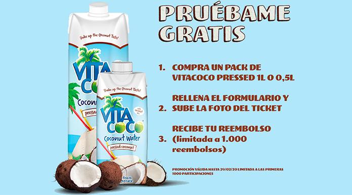 Prueba gratis Vita Coco pressed