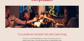 Borges sortea una comida de Navidad