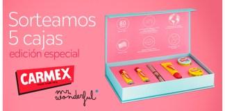 Carmex sortea 5 cajas edición especial
