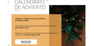 Calendario de Adviento Cortefiel 2019