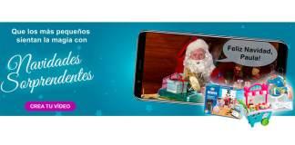 Crea un vídeo personalizado con Navidades Sorprendentes