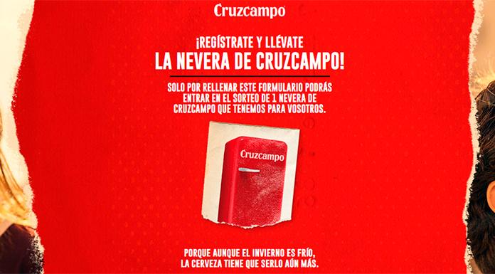 Llévate gratis la nevera de Cruzcampo