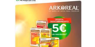 5 euros de reembolso en Arkoreal