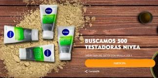 Buscan 500 Testadoras Nivea Urban Skin Gel Detox