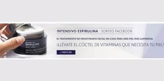 Institut Esthederm sortea 2 unidades de Intensivo Espirulina Crema