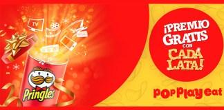 Premio gratis con cada lata Pringles