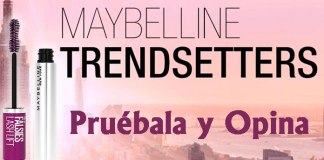 Prueba gratis Lash Lift Waterproof de Maybelline