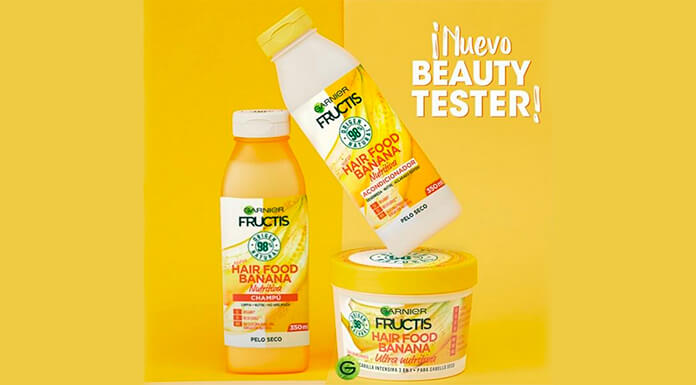 Nuevo Beauty Tester: Garnier da a probar gratis Hair Food Menu