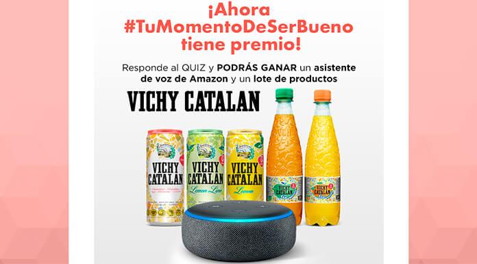 Gana un asistente de voz de Amazon y un lote de productos Vichy Catalan