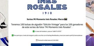 """Inés Rosales sortea 100 bolsas de algodón """"Edición Vintage"""""""