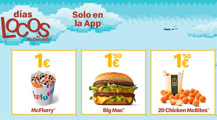 Llegan los días locos de McDonald's