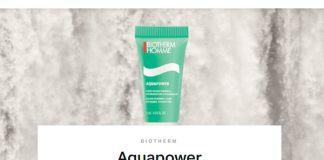 Muestras gratis de Aquapower en Destino de Belleza