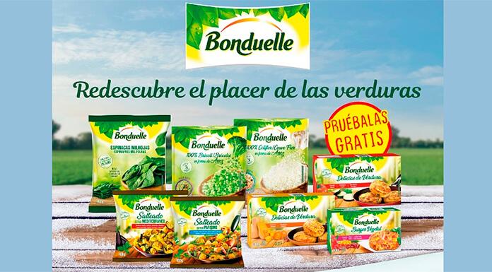 Prueba gratis verduras Bonduelle