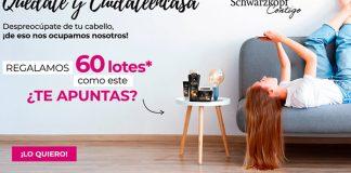 Club Schwarzkopf regala 60 lotes de productos Gliss