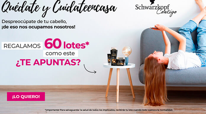 Club Schwarzkopf regala 60 lotes de productos Gliss