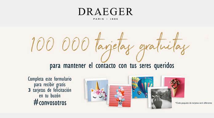 Draeger Paris reparte 100.000 tarjetas gratis de felicitación