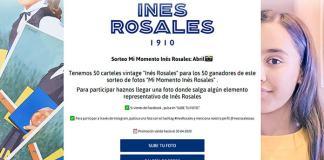 Inés Rosales sortea 50 carteles vintage