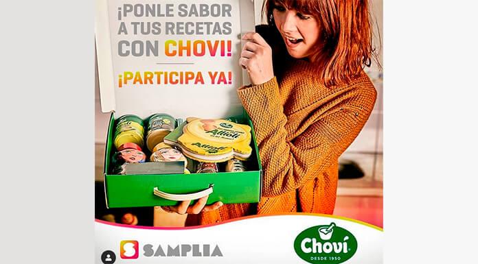 Samplia sortea 5 lotes de salsas Choví