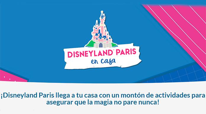 Disfruta gratis de Disneyland Paris en casa