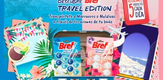 En Tu Casa Club sortean productos Bref Travel Edition