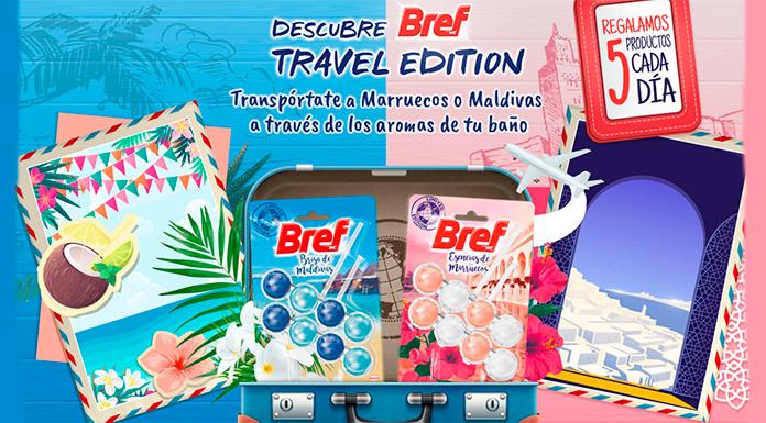 En Tu Casa Club sortean productos Bref Travel Edition