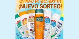 Gana un año de gel de baño de Instituto Español