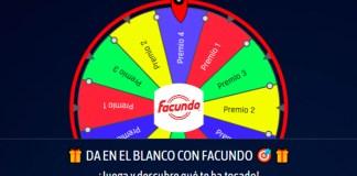 Juega y gana un premio con Facundo