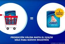 Llévate gratis un pack de pañales con Dodot VIP